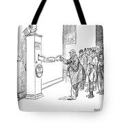 Coolidge Cartoon, 1925 Tote Bag