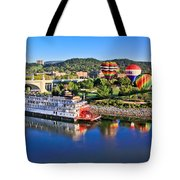 Coolidge Park During River Rocks Tote Bag