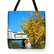 Cooper Young Trestle Looking North Tote Bag