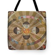 Copernican World System, 17th Century Tote Bag