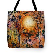 Copper Moon Tote Bag