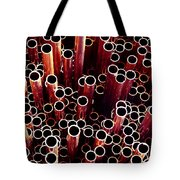 Copper Pipes. Tote Bag