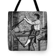 Copper Plate Printer, 1807 Tote Bag