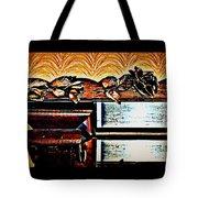 Copper Roses Bands Of Steel Tote Bag
