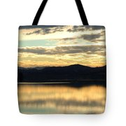 Copper Sky And Reflections Tote Bag