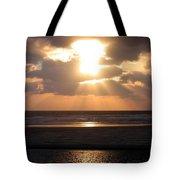 Copper Sunset Stroll Tote Bag