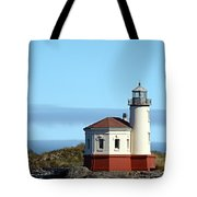 Coquille River Lighthouse Tote Bag