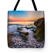 Coral Dawn Tote Bag