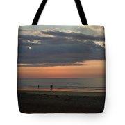 Coral Haze Sunrise Tote Bag