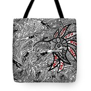 Coral Implodes With Human Touch...you Decide Tote Bag