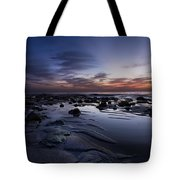 Coral Mirror Tote Bag