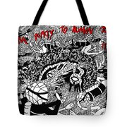 Coral Reacts To Human Touch.. It Dies Tote Bag