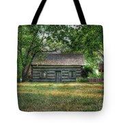 Corbett's Cabin Tote Bag by Pamela Baker