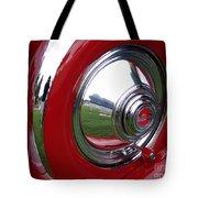 Cord Hubcap Tote Bag