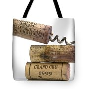 Cork Of French Wine Tote Bag