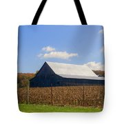 Corn Barn And Silo Tote Bag
