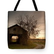 Corn Crib Tote Bag