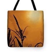 Corn Field Haze  Tote Bag