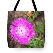 Corn Flower Tote Bag