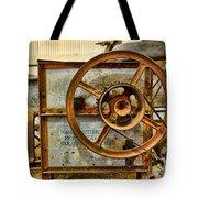 Corn Husker Machine Tote Bag
