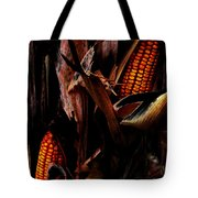 Corn Stalks Tote Bag