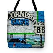 Corner Cafe Tote Bag