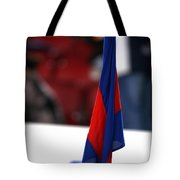 Corner Flag Of Camp Nou Tote Bag