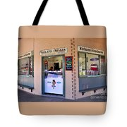 Corner Ice Cream Store Tote Bag