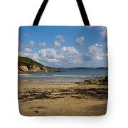 Cornish Seascape Maenporth Tote Bag
