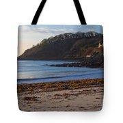 Cornish Seascape Meanporth Tote Bag