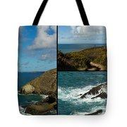 Cornwall North Coast Tote Bag by Brian Roscorla