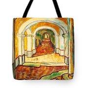 Corridor In The Asylum Tote Bag