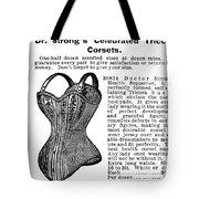 Corset Advertisement, 1895 Tote Bag