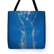 Corset Patent Series 1924 Figure 1 Tote Bag