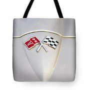 Corvette Emblem Tote Bag