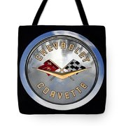 Corvette Name Plate Tote Bag