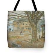 Cos Cob In November Tote Bag by Childe Hassam