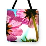 Cosmia Flower Twins Tote Bag