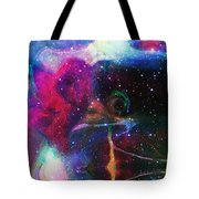 Cosmic Connection Tote Bag