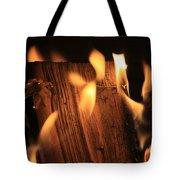 Cosmic Fire Tote Bag