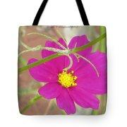 Cosmic Florets Tote Bag