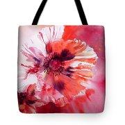Cosmic Poppies Tote Bag