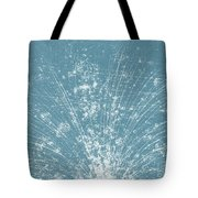 Cosmic Ray Particle Tracks Tote Bag