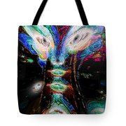Cosmic Smurf Tote Bag