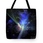 Cosmic Strands Of Gaseous Filament Tote Bag