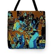 Cosmic Winter Blues 1975 Tote Bag