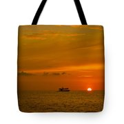 Costa Rica Sunset Tote Bag