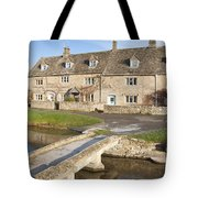 Cotswold Village Of Lower Slaughter Tote Bag