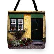Cottage At Bushmills, Co Antrim, Ireland Tote Bag
