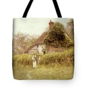 Cottage At Pinner Middlesex Tote Bag